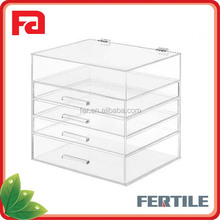 WFZ423894 Clear 5 Tier Acrylic Makeup Organizer Manufacturer