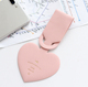 Heart Shape Personalized Blank Silicone Luggage Tags
