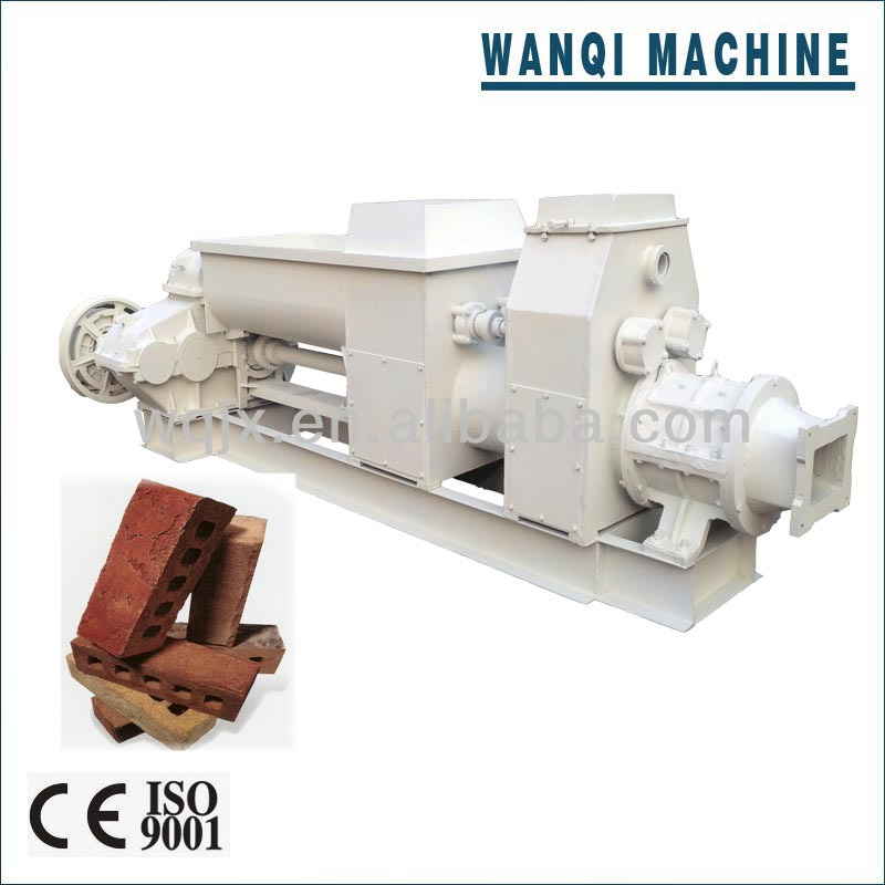 Good Price! Henan clay brick extruder rolling type machine with stamp on the brick