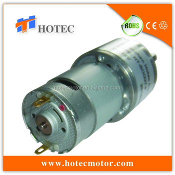 Low noise 37mm gearbox reversible 6mm shaft high torque for Low noise dc motor