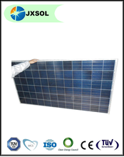 JXSOL 100kw solar modules stock for roof solar system or solar station brand 250w PV solar panels