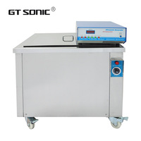 VGT-1030S 117L Big Size Power Adjustable ultrasonic cleaner Automatic Car Wash Machine With Heating