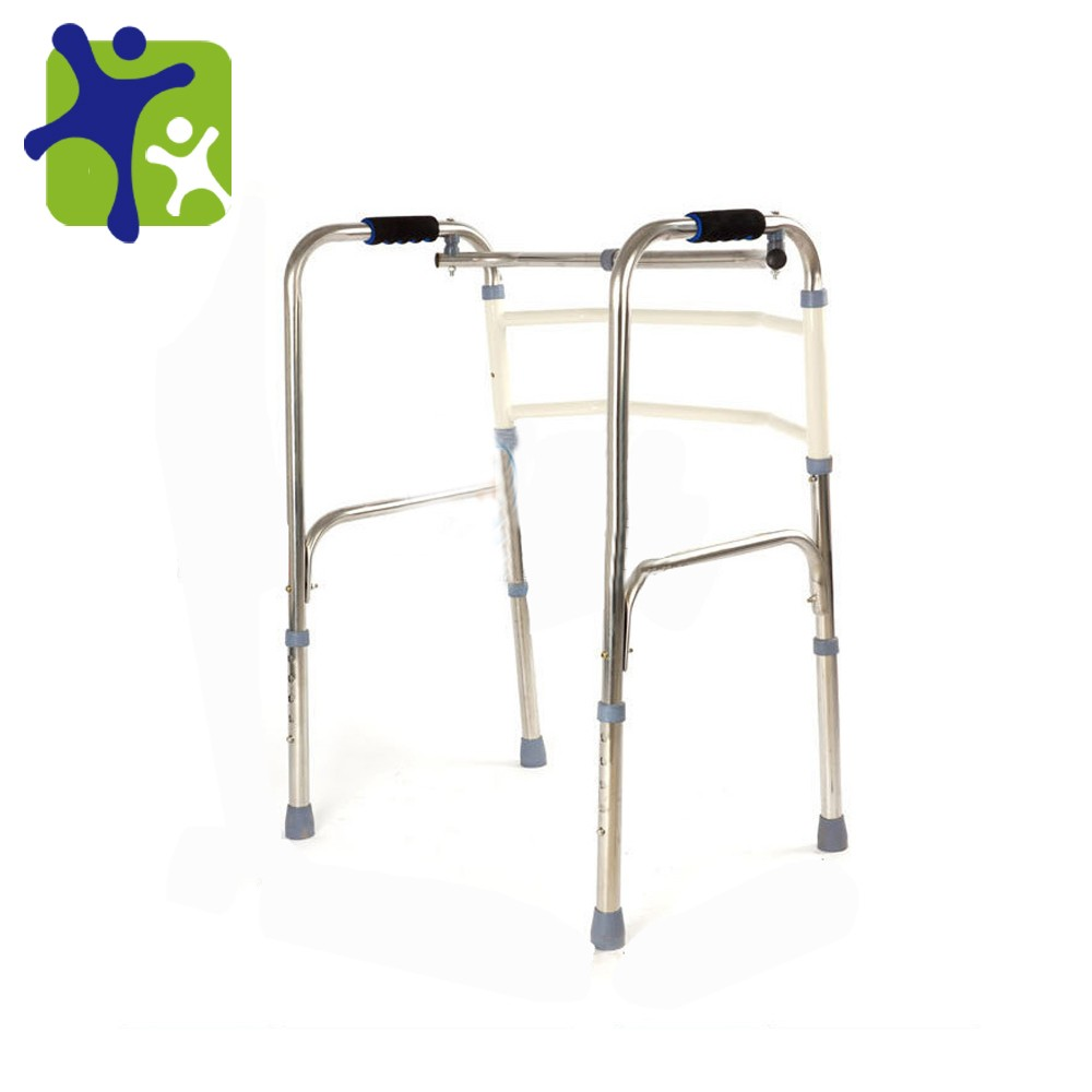 Walking aid frame, thick stainless steel walking chair, top quality walking stick