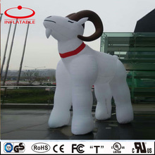 Custom inflatable goat model , inflatable decoration cartoon character