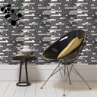 SMJ05 Russia style stainless steel mosaic metal mix crystal mosaic glass mosaic tile