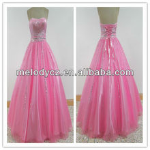 MD731 pink ball gown