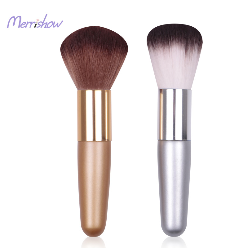 Short Portable Powder Blusher Makeup Brush Direct From China Make Up Factory Imported Cosmetic Tools