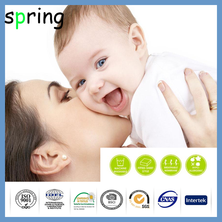 China For hot summer wholesale Crib Mattress Protector Pad changing pad liner