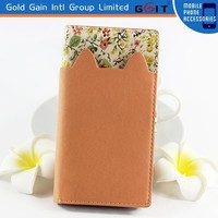 Multifunctional Eye-catching PU Flip Wallet Cover with Lots of Card Slots for NOKIA 730 in 2015
