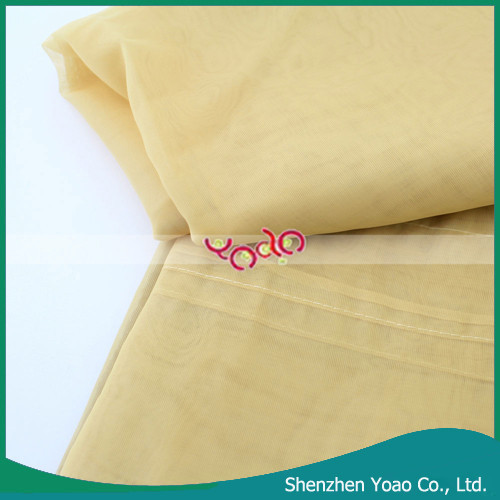 Luxury Gold Machine Washable Sheer Voile Curtain