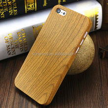Luxury Retro Wood Style Wooden Grain Hard plastic Case Cover for iphone 5S SE 6 6s 7 7 plus