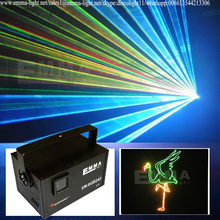 2 watt Programmable Laser Light Show System with Red, Green and Purple Laser, Custom Animations