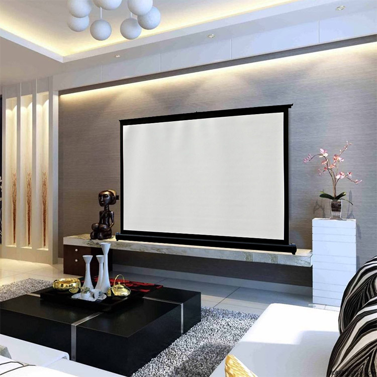 40inch 4:3 projector screen roll up projection screen/mini table screen/foldable projector screen