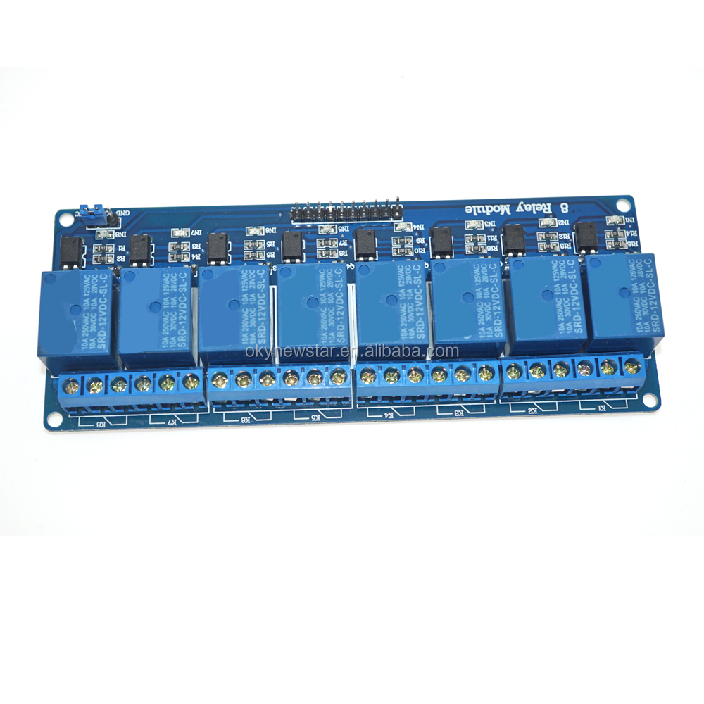 Relay 12v 8pin 5a relay price, 5V / 9V/12V /24V 8 Channel Relay <strong>Module</strong>