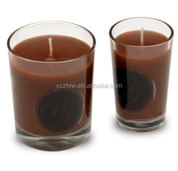 Coffee Fragrance Glass Jar Candle Sets, Scented Jar Candles Wholesale