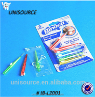 Orthodontic Wide Plastic Handle Interdental Brush