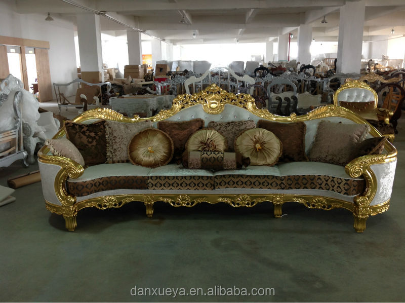 danxueya dubai classic italian antique living room furniture
