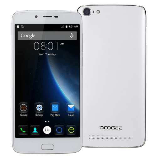 DropShipping & Whoelsale DOOGEE Y200 32GB SmartPhone, Network: 4G, Fingerprint Unlock, 5.5 inch Android 5.1, RAM: 2GB