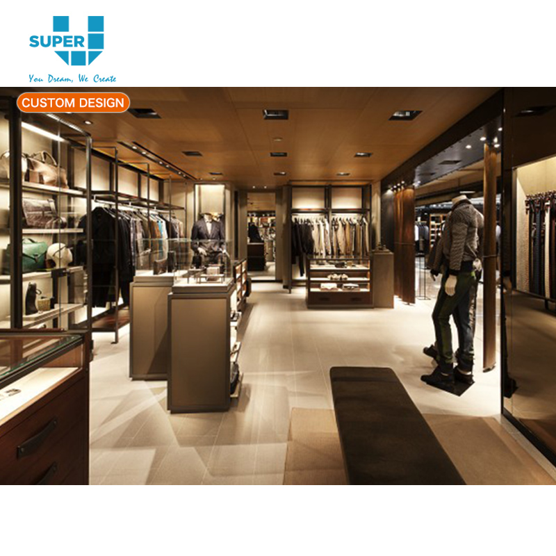 Profitability Promoting Men's Clothes Store Display Furniture