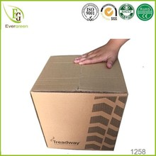 3-ply double wall corrugated RSC standard carton box for tyre