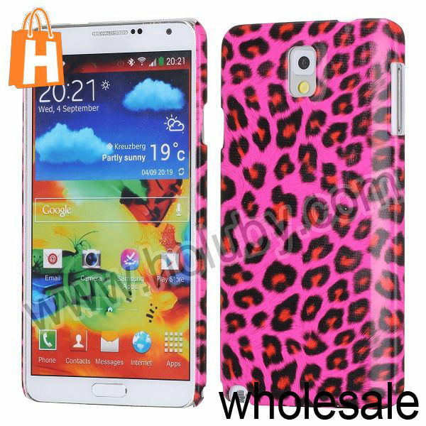 Leopard Pattern Hard Case for Samsung Galaxy Note 3 N9005 N9002 N9000