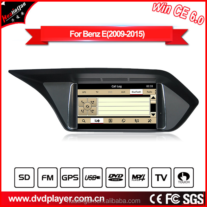 HLA 8502 dvd navi for Mercedes E W212 A207 car dvd win ce 6.0 7inch car gps