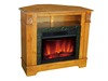 electric wood indoor used corner electric fireplaces wood burning
