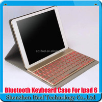 Ultrathin Bluetooth Keyboard Flip PU Leather Case Cover for iPad Air 2