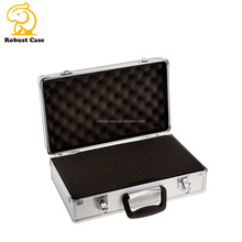 China strong aluminum shot gun case with custom foam insert aluminum carrying case