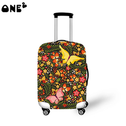 ONE2 new cool design trendy trolley travel bags luggage cover for girls