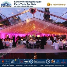 Beautiful mega clear wedding marquee for sale