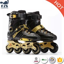 adults in-line durable straight roller skates shoes men