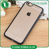 mobile accessories TPU PC mobile covers for iphone 6 case Soft TPU bumper mobile covers