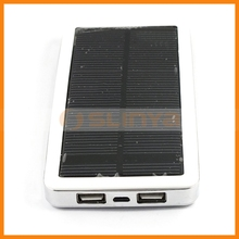 12800mah Dual USB Charger Emergency Use Solar External Battery for Samsung Galaxy S5