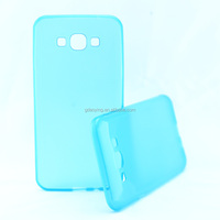 for samsung A8 A8000 tpu glossy outer scrub inner material flexible mobile phone cover factory case