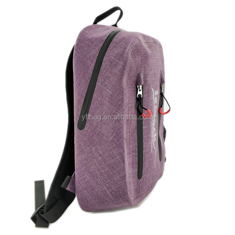 Camping & Hiking Use and 15L Capacity waterproof backpack