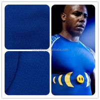 polyester moisture wicking fabric with anti-microbial treatment for under armour