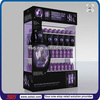 TSD-A541 Custom retail store promotion acrylic shampoo display stands,hair color display racks,desktop acrylic display case