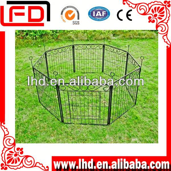 Hot-dipped Galvanized pet kennel fence factory in China