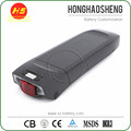 Hot sale hailong 24volt 500W lithium ion 24v electric bike battery with 20ah