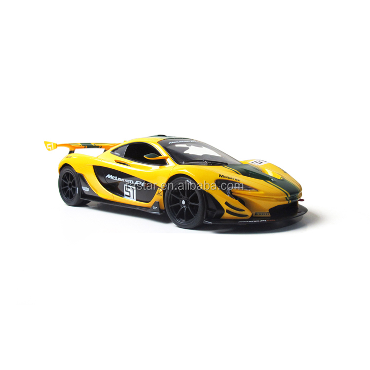 Rastar children's vehicles 1/14 mclaren mini electric car toy