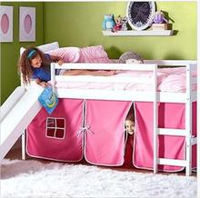 Kids metal car bunk beds