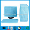 "3 in 1 Blue Nonwoven Fabric Dust Cover for 22"" LCD Computer"