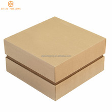 Custom Sizes Factory Direct Sale Brown Kraft Paper Box