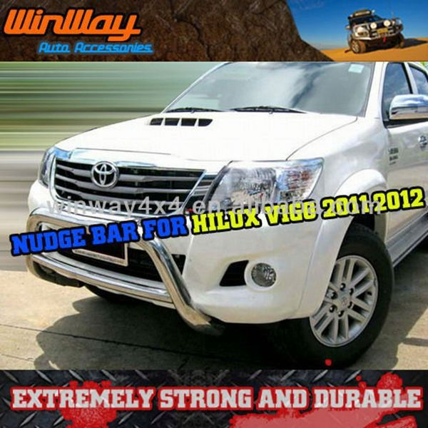 pick up truck toyota hilux bull bar 2012-2014