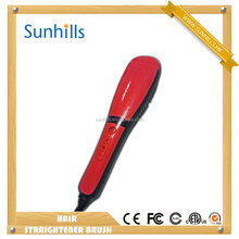 Custom logo ion spray can also protect your hair Hair Straightener Comb with best quality and low price