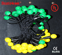 UL Led replaceable string light colorful for Christmas decoration