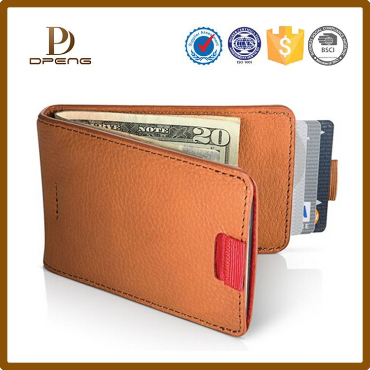 Rfid credit card holder with money clip, rfid blocking card holder wholesale
