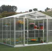 Plastic greenhouse Aluminum Hobby Greenhouse for Market