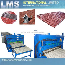LMS automatic roof panel tile roll forming machine